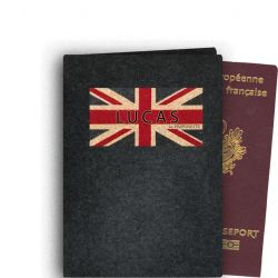 Personalized Passport Case - Flannel
