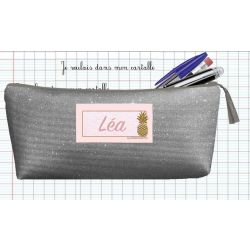 Personalized School Kit - Sparkling Gray