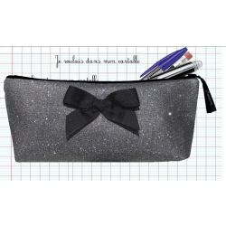 Personalized School Kit - Sparkling black