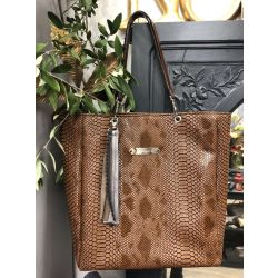 Custom Shopping Bag - Tasma Camel