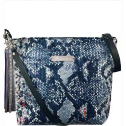 Custom Shoulder Bag - Blue Tasma