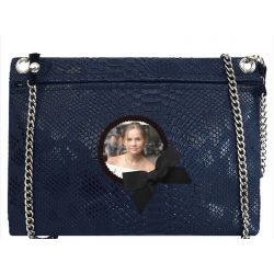 Navy Blue Tasma Custom Pouch Bag