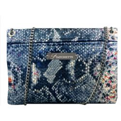 Blue Tasma Custom Pouch Bag