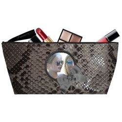 Gray Khara Make-up bag