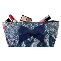 Blue Tasma Make-up bag