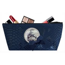 Blue Navy Tasma Make-up bag