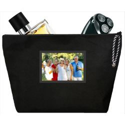 Coated black man Toilet bag