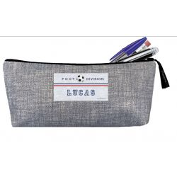 Personalized School Kit - Laminated Heather gray