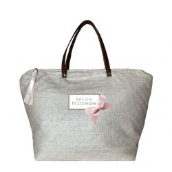 Changing Bag - Shiny linen