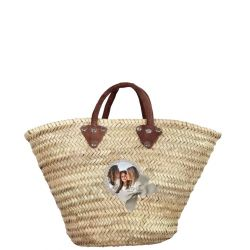Straw basket customed