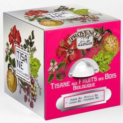 Organic herbal tea forest fruits - Provence d'Antan