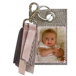 Photo keyring - Tassel