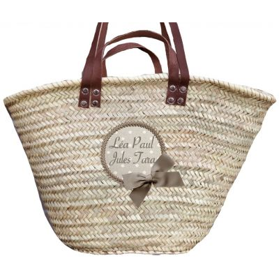 Personalized children's basket with the names of all children or grandchildren!