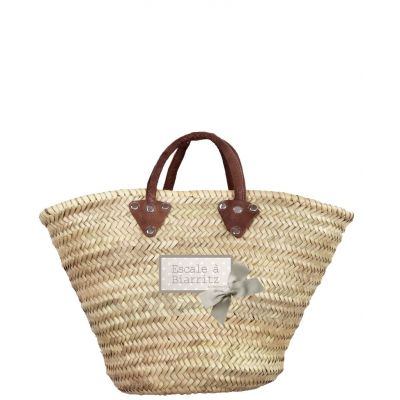 Basket Wicker - Basket of beach