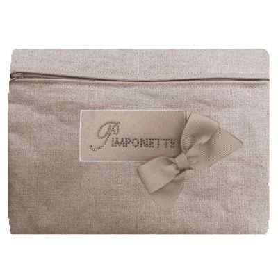 Shiny Linen Trendy Pocket by Pimponette